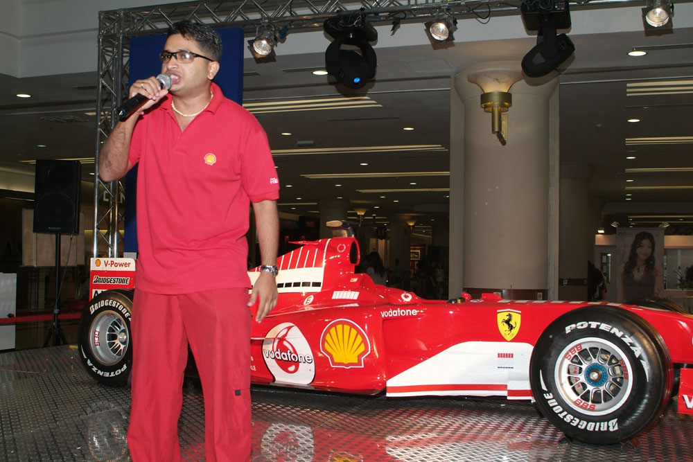 Shell F1 Roadshow