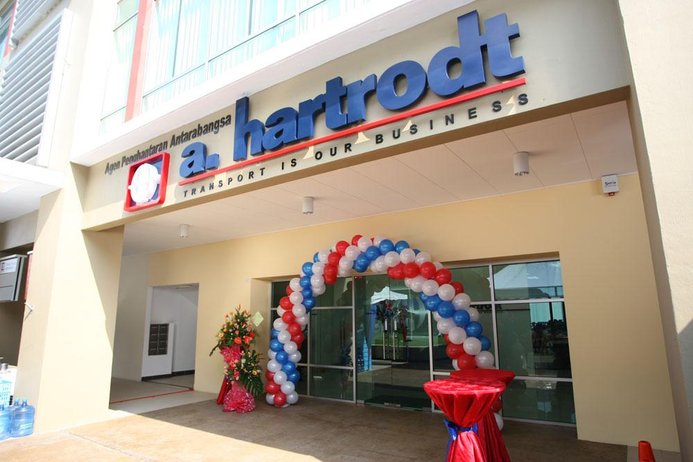 A. Hartrodt Building Launch