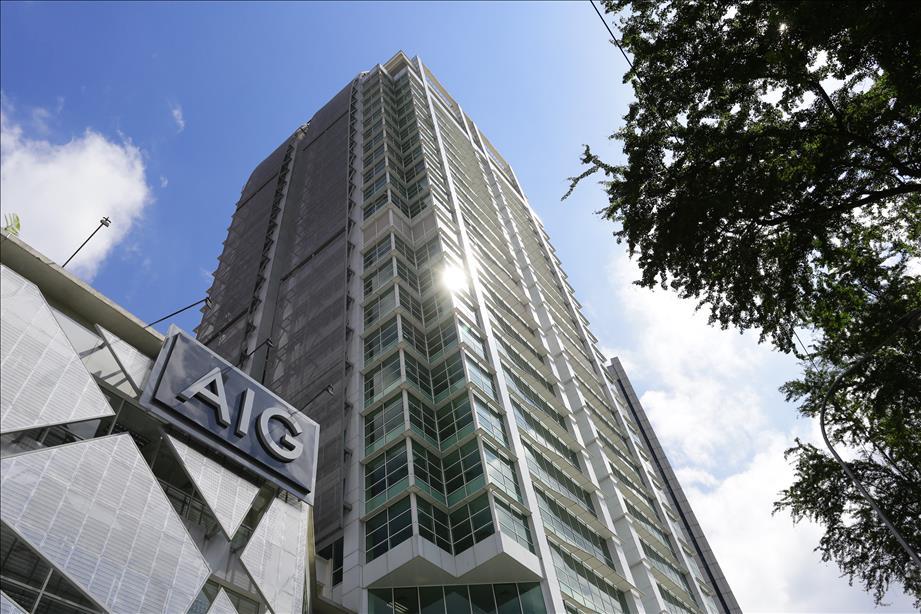AIG Building Launch